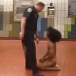 サンフランシスコ駅で全裸の男がやりたい放題/Naked Man Goes Nuts At SF Station