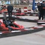 ゴーカートに乗っていた女性の首が切断される事故(トルコ)/Turkish University Student Beheaded In Go-kart Accident.