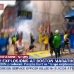 【画像あり】ボストン・マラソン爆破テロ 事件直後の様子/Raw footage : Right after Bomb explosion at Boston Marathon